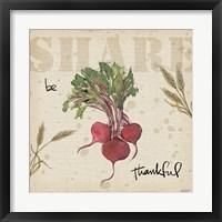 Framed Farmers Feast Harvest IV