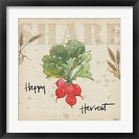 Framed Farmers Feast Harvest II