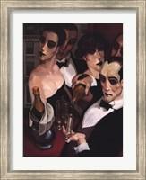 Framed Champaign Waiter