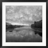 Framed Morning on the River