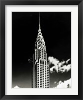Framed Chrysler Building
