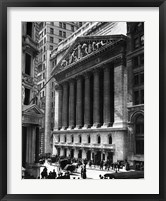 Framed NY Stock Exchange