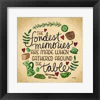 Framed Kitchen Memories II (Fondest memories)
