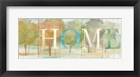 Framed Home Rustic Landscape Sign