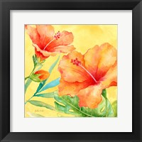 Framed Tropical Paradise Brights II