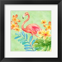 Framed Tropical Paradise Brights IV