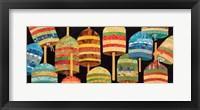 Framed Buoy Collage Panel