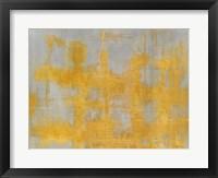 Framed Golden Light Landscape