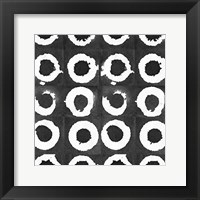 Framed Watermark Black and White I