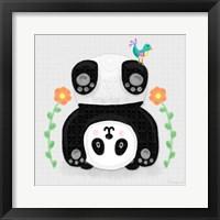 Framed Tumbling Pandas IV