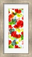 Framed Tropical Floral Panel I