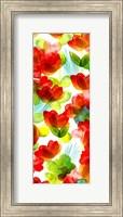 Framed Tropical Floral Panel II