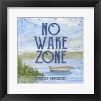 Framed Lake Living II (no wake zone)