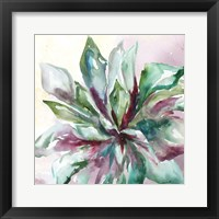 Succulent Watercolor II Framed Print
