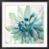 Framed Succulent Watercolor III