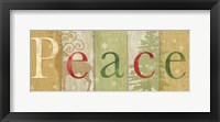 Framed Peace Rustic Sign II