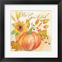 Framed Welcome Fall - Be Grateful