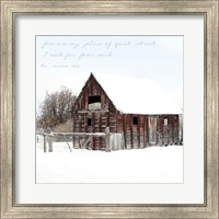 Framed Quiet Retreat