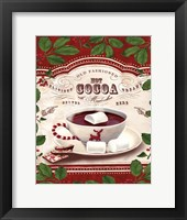 Framed Hot Cocoa Old Fashioned