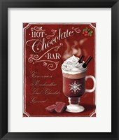 Framed Hot Cocoa Hot Chocolate
