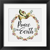 Framed Peace and Joy I