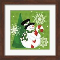 Framed White Christmas Wishes I