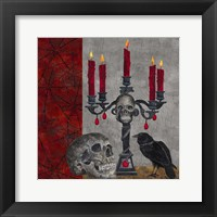 Framed Something Wicked Candlelabra