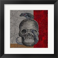 Framed Something Wicked Skull