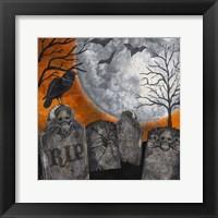 Framed Something Wicked Graveyard II RIP