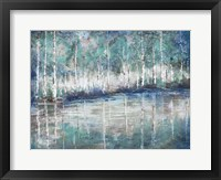 Framed Aspen Pond