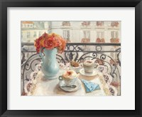 Framed Le Petit Dejeuner