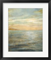 Framed Serene Sea II