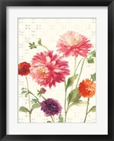 Framed Watercolor Floral VI