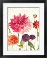 Framed Watercolor Floral V