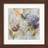 Framed Autumn Hydrangea II