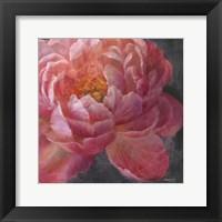 Framed Vivid Floral I Crop