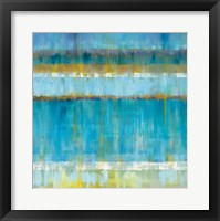 Framed Abstract Stripes