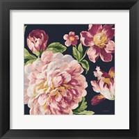 Framed Mixed Floral IV Crop I Pastel