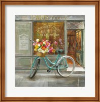Framed French Flowershop