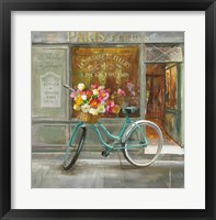 Framed French Flowershop