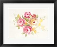 Framed Watercolor Element IV