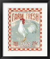 Framed Farm Nostalgia VII