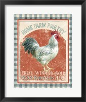 Framed Farm Nostalgia VIII