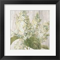 Framed Scented Cottage Florals II Crop