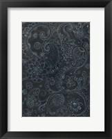 Framed Paisley Swirl