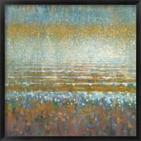Framed Rains Over the Lake Light