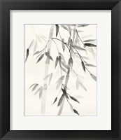 Framed Bamboo Leaves V