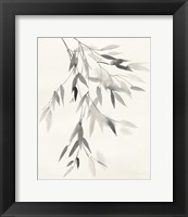 Framed Bamboo Leaves IV