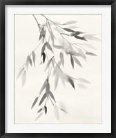 Framed Bamboo Leaves IV