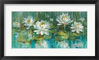 Framed Water Lily Pond Crop